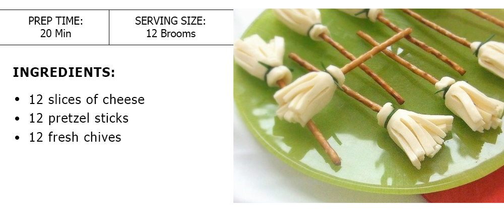 Cheese Broomsticks